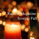 Radical Magazine vol.77 蠍座満月号 2021年4月27日 12星座占い